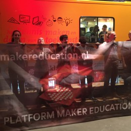 Sander Dekker start Platform Maker Education