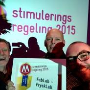 FryskLab wint samen met FabLab Zeeland aanmoedigingsprijs Mediawijzer.net