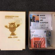 FryskLab ontwerpt Maker Boxes voor Europarlementariërs en presenteert deze bij Generation Code