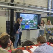 FryskLab Challenge: Bouwstudenten ROC Friese Poort pitchen definitief ontwerp Skultsje