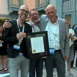 FryskLab neemt Presidential Citation for Innovative International Library Projects van American Library Association in ontvangst