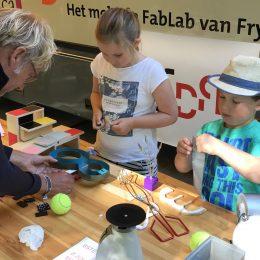Mini Goldberg Machines: geslaagde sessie FryskLab en 8ste Dag bij UITfestival Leeuwarden