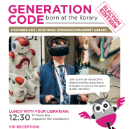 Generation Code 2018: wij tonen The Glass Room Experience en de Data Detox Kit