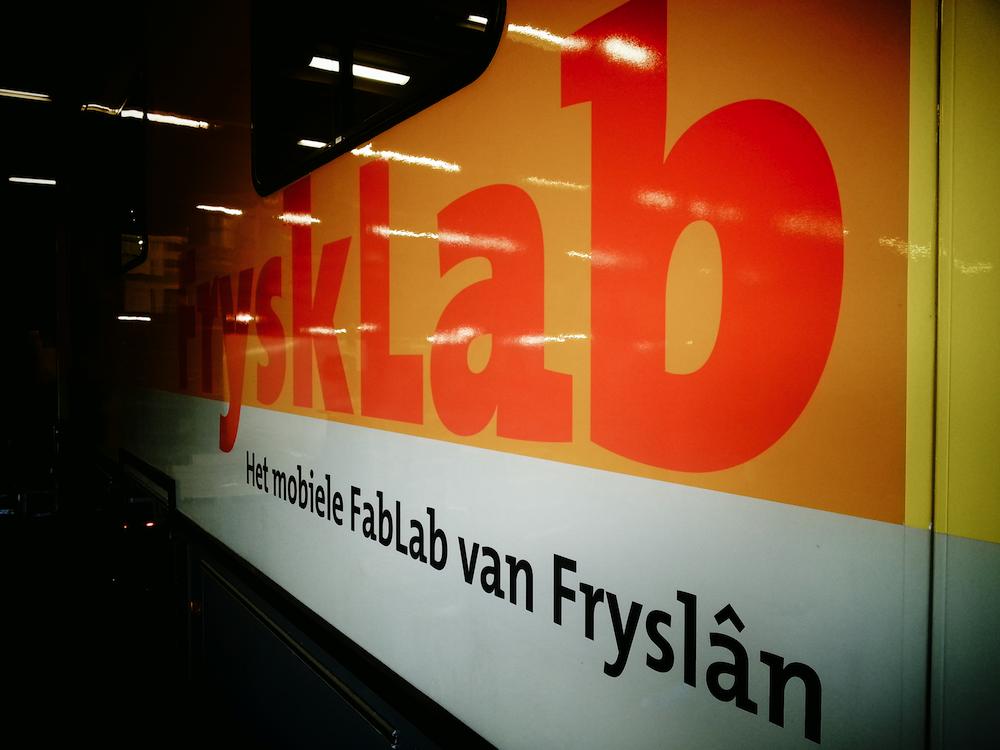 FryskLab voor het eerst in actie tijdens de Uitmarkt in Leeuwarden. Speciale attractie: de IckerSticker! #lwd2018